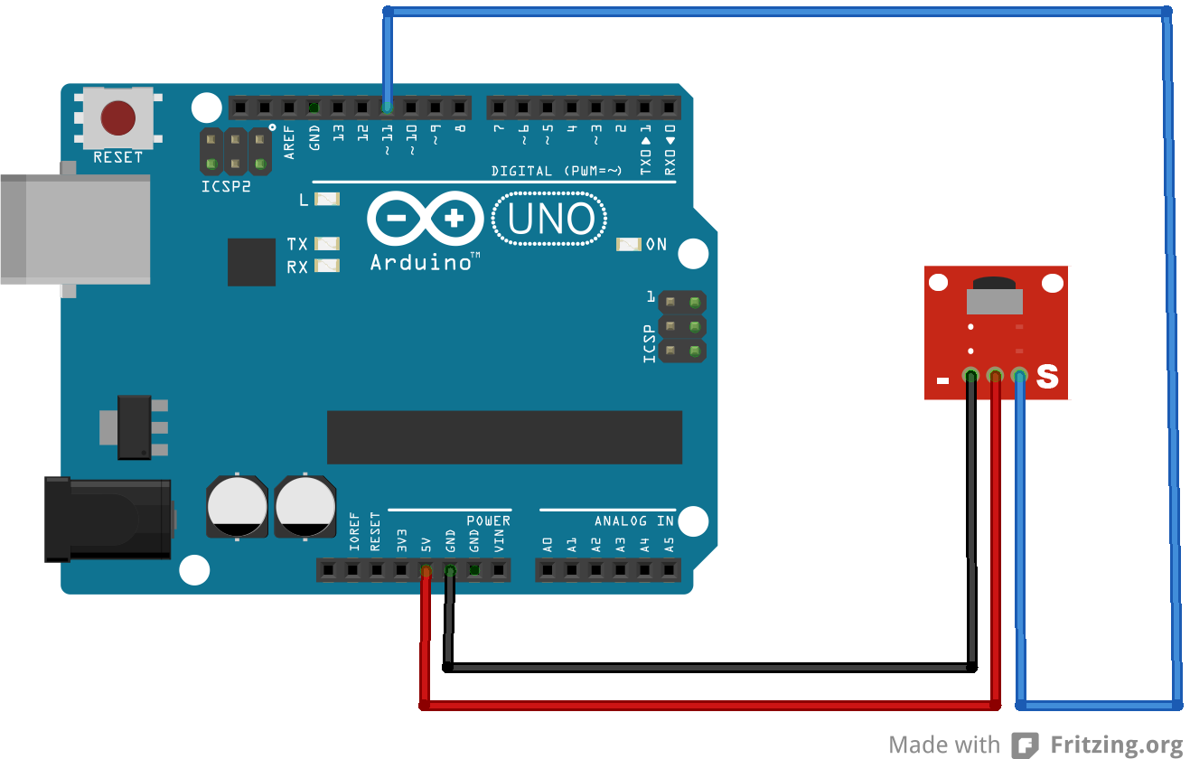 Receive ir value with arduino ys tech share
